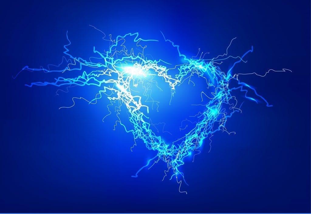 Falling in love feels electrifying.