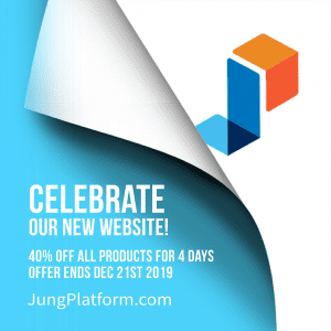 Get 40% off of all products until 21 December 2019