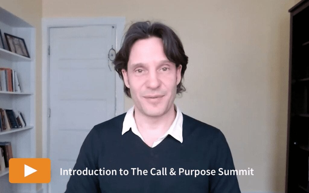 Watch the introduction to The Call & Purpose Summit